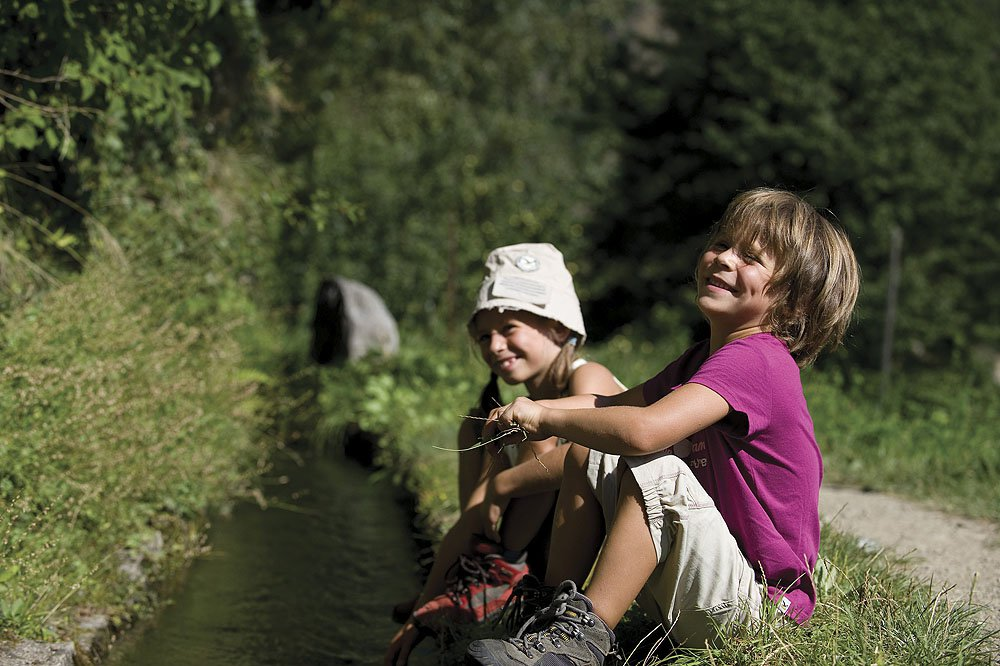 A hiking holiday with children in South Tyrol